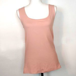 Zara Basic Pale Pink Dressy Tank Top